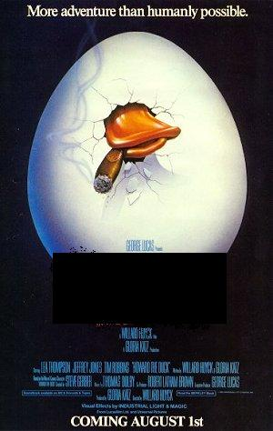 Howard The Duck Movie Poster Answer Howard The Duck